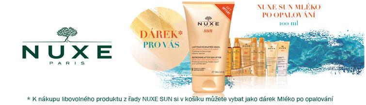 GigaLékáreň.sk - K Nuxe Sun mléko po opalování zdarma