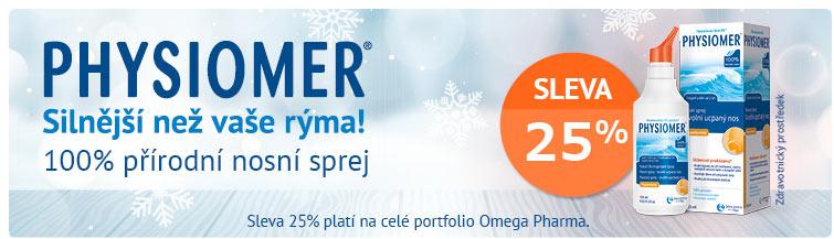 GigaLékáreň.sk - Physiomer a OmegaPharma -25 %