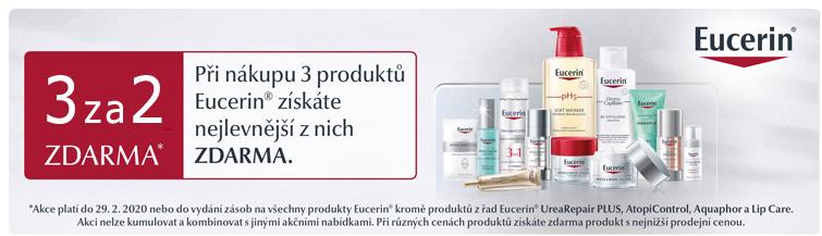GigaLékáreň.sk - Eucerin vybrané řady v akci 3za2
