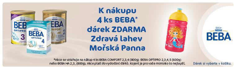 GigaLékáreň.sk - Nestlé Beba 4ks + kojenecká léhev