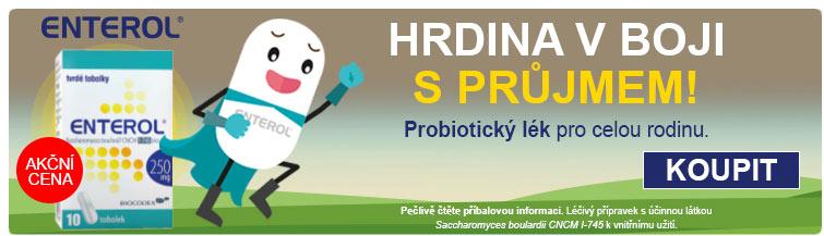 GigaLékáreň.sk - Enterol - hrdina v boji s průjmem