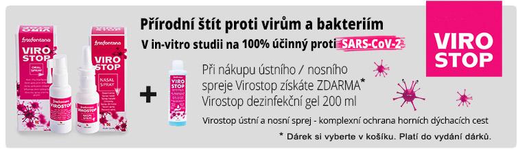 GigaLékáreň.sk - Dezinfekce k nákupu produktů Virostop