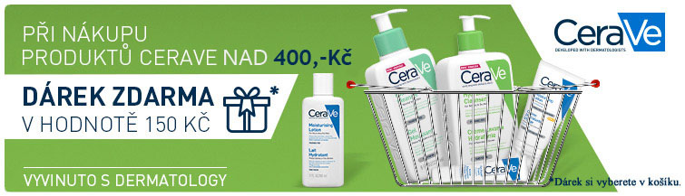 GigaLékáreň.sk - Cerave - při koupi 2 produktů NAD 400,- dárek v ho