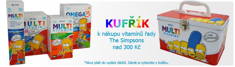 GigaLékáreň.sk - Kufřík k multivitamínům The Simpsons