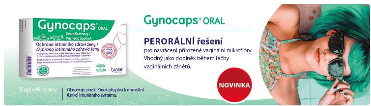 GigaLékáreň.sk - Novinka Gynocaps Oral