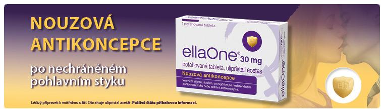 GigaLékáreň.sk - Nouzová antikoncepce EllaOne