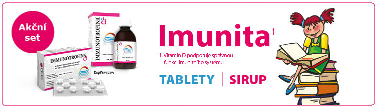 GigaLékáreň.sk - Immunotrofina akční set tablety + sirup