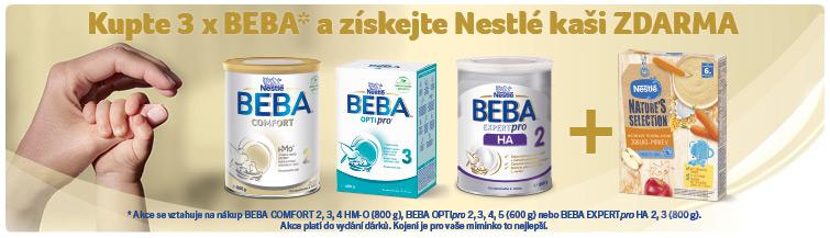 GigaLékáreň.sk - Kupte 3x BEBA a získejte Nestlé kaši ZDARMA