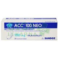 ACC 100 NEO 20 šumivých tablet