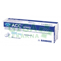 ACC Long šumivé tablety 10x600mg