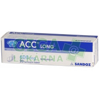 ACC Long šumivé tablety 20x600mg