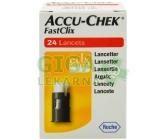 Accu Chek Fastclix lancets 24ks