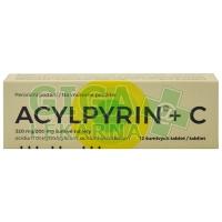Acylpyrin+C 12 šumivých tablet
