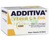Additiva vitamín C + zinek cps.80