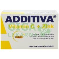 Additiva Vitamin C + Zinek 60 tablet