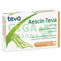 Aescin-Teva 20mg 30 tablet