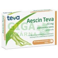 Aescin-Teva 20mg 90 tablet