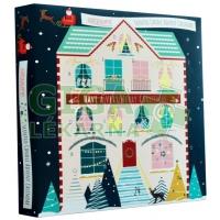 Airpure Adventní kalendář House-24 svíček