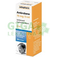 Ambrobene 15mg/5ml sirup 100ml