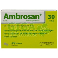 Ambrosan 30mg 20 tablet