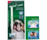 Animal smile zubní kartáček dvouhl. pro psy a kočky