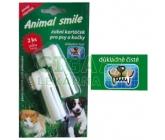 Animal smile zubní kartáček na prst pro psy a kočky
