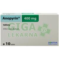 Anopyrin 400mg 10 tablet