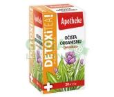 Apotheke DetoxiTea Očista organismu čaj 20x1.5g
