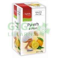 Apotheke Pu-erh a citron čaj 20x1,8g