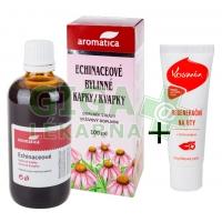 Akční set: AROMATICA Echinaceové kapky 100ml+Kosmín 25ml
