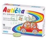 Autíčka pro pohodové cestování 10 žvýk.tablet