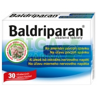 Baldriparan 30 tablet