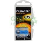 Baterie do naslouch.Duracell DA675P6 Easy Tab 6ks