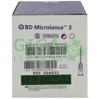 BD Microlance Inj. jehla 21G 0.80x40 zelená 100ks