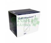 BD Microlance Inj. jehla 23G 0.60x30 modrá 100ks