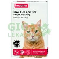 Beaphar Obojek pro kočky DIAZ Flea a Tick 35cm