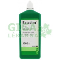 Betadine 1000ml (zelený)