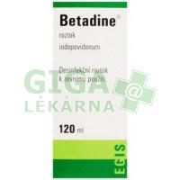 Betadine 120ml (zelený)