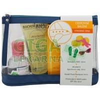 BIODERMA Cestovní balení (H2O+Atod.Sprch.+Nodé šamp.+kr.SPF50)