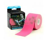 BronVit Sport Kinesio tape classic růžová 5cmx5m