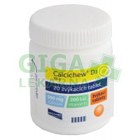 Calcichew D3 20 tablet