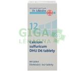 No.12 Calcium sulfuricum DHU D6 80tbl