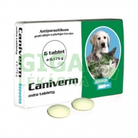 Caniverm mite tablety 6x175mg