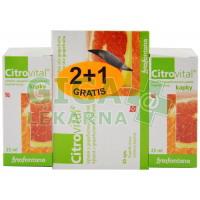 Citrovital 2+1 zdarma (2x kapky + 1x kapsle)