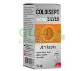 Coldisept nanoSilver ušní kapky 15ml