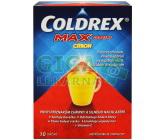 Obrázek Coldrex Horký nápoj Maxgrip Citron 10 sáčků