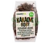Country Life Kakaové boby nepražené drcené 100g BIO