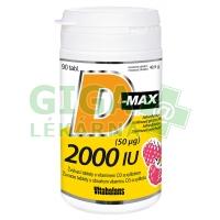 D-Max 2000 IU 90 tablet