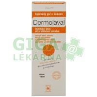 DERMOLAVAL sprchový gel a šampon 200ml