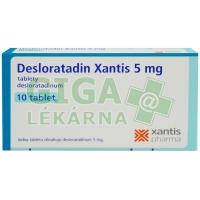 Desloratadin Xantis 5mg 10 tablet